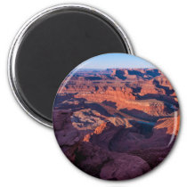Dead Horse Point Sunrise - Moab, Utah Magnet