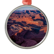 Dead Horse Point Sunrise - Moab, Utah Metal Ornament