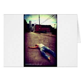 Dead in the City by April A Taylor Card