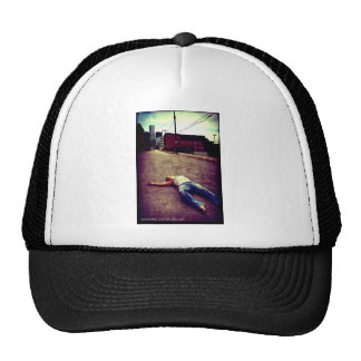 Dead in the City by April A Taylor Mesh Hat