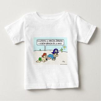 dead in water pirate desert captain esperanto baby T-Shirt