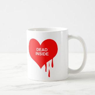 DEAD INSIDE CLASSIC WHITE COFFEE MUG