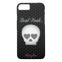 Dead Inside Skull iPhone 8/7 Case