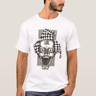 Dead Jester - Melange Ringer (Burgundy/Burgundy). T-Shirt