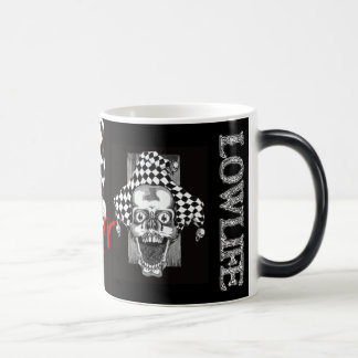 Dead Jester Morphing Mug. Magic Mug