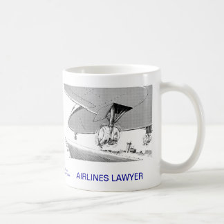 Dead Lawyer™ Airlines Lawyer Coffee Mug
