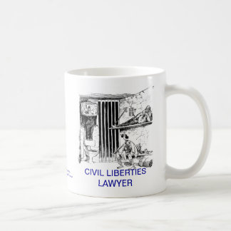 Dead Lawyer™ Civil Liberties Lawyer Coffee Mug