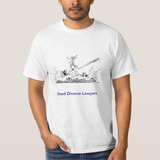 Dead Lawyer™ Divorce Lawyer T-Shirt