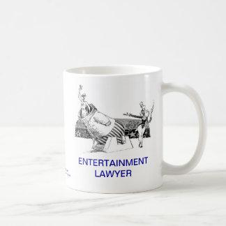 Dead Lawyer™ Entertainment Lawyer Coffee Mug
