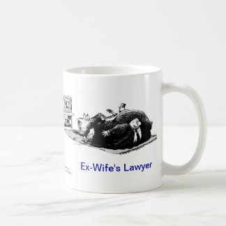 Dead Lawyer™ Ex-Wife's Lawyer Coffee Mug