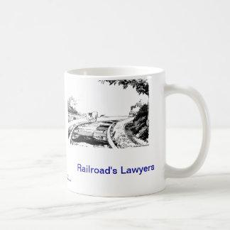Dead Lawyer™ Railroad's Lawyer Coffee Mug