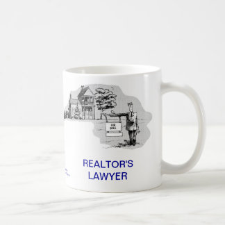 Dead Lawyer™ Realtor's Lawyer Coffee Mug