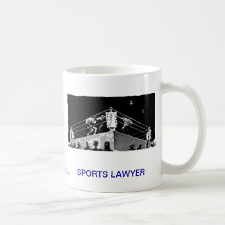 Dead Lawyer™ Sports Lawyer Coffee Mug