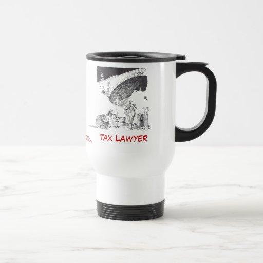 Dead Lawyer™ Tax Lawyer Travel Mug