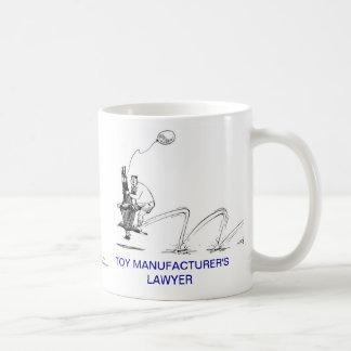 Dead Lawyer™ Toy Manufacturer Lawyer Coffee Mug