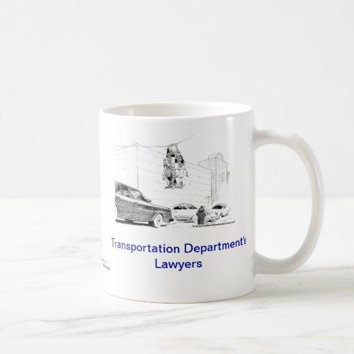 Dead Lawyer™ Transportation Dept Lawyer Coffee Mug