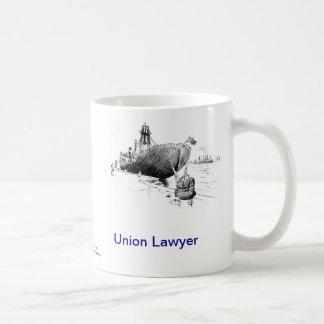 Dead Lawyer™ Union Lawyer Coffee Mug