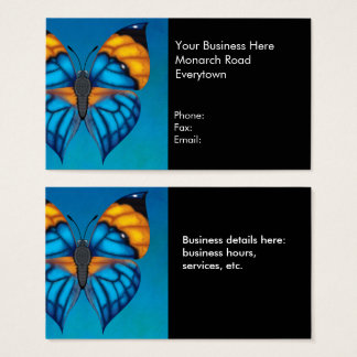 Dead Leaf Butterfly Business Card