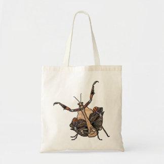 Dead Leaf Mantis Tote Bag