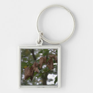 Dead leaves keychain