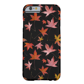 Dead Leaves over Black Barely There iPhone 6 Case