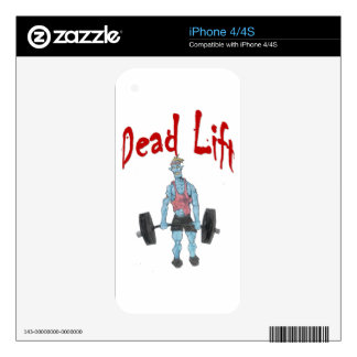 Dead Lift Decal For iPhone 4