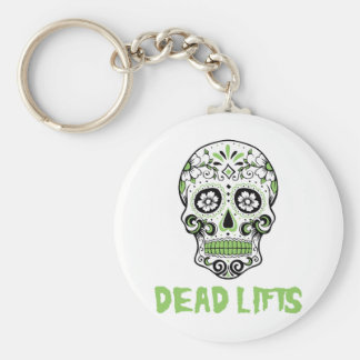 Dead Lifts Keychain