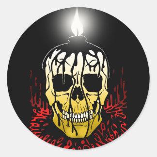 Dead Light Classic Round Sticker