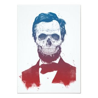 Dead Lincoln Card