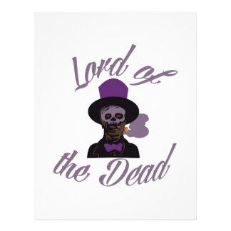 Dead Lord Samedi Letterhead