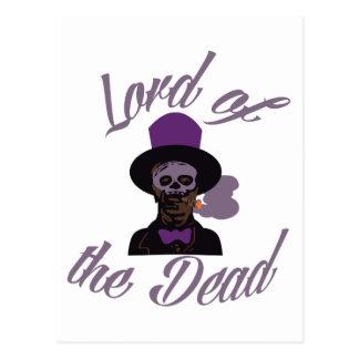 Dead Lord Samedi Postcard