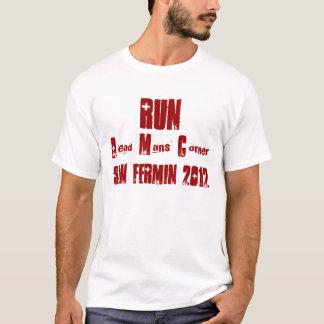 Dead Mans' Corner Running with the Bulls Pamplona T-Shirt