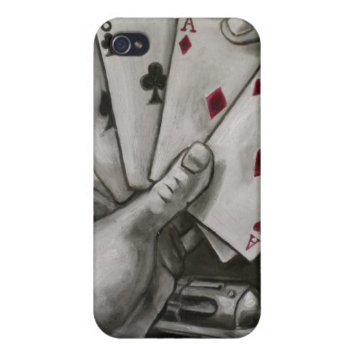 Dead Man's Hand iPhone 4/4S Cover