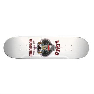 Dead Man's Hand KCMO Homicide Skate Board Decks