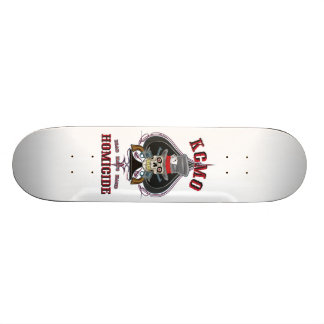 Dead Man's Hand KCMO Homicide Skateboard Deck