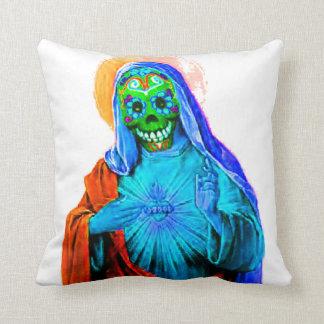Dead Mary Throw Pillows