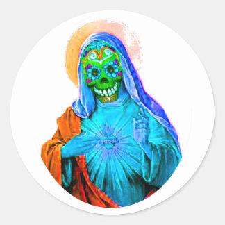 Dead Mary Classic Round Sticker