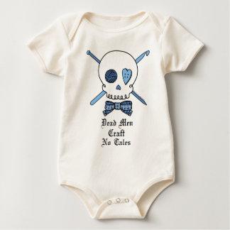 Dead Men Craft No Tales (Blue) Baby Creeper