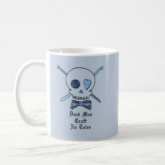 Dead Men Craft No Tales (Blue Background) Coffee Mug