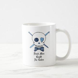 Dead Men Craft No Tales (Blue) Coffee Mug