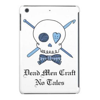 Dead Men Craft No Tales - Craft Skull (Blue) iPad Mini Retina Cases