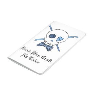 Dead Men Craft No Tales - Craft Skull (Blue) Journal
