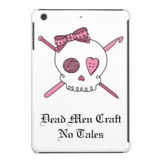 Dead Men Craft No Tales - Craft Skull (Pink) iPad Mini Cases