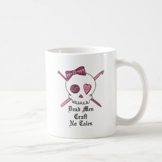 Dead Men Craft No Tales (Pink) Coffee Mug