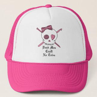Dead Men Craft No Tales (Pink) Trucker Hat