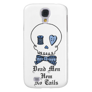 Dead Men Hem No Tails (Blue) Galaxy S4 Cases