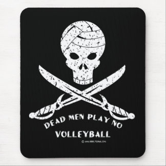 Dead Men Play No Volleyball: Mouse Pad Distressed