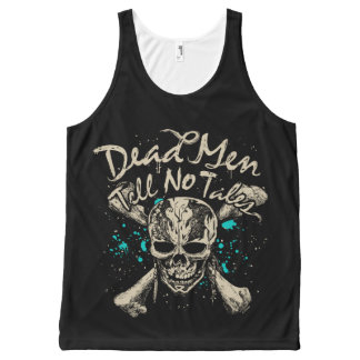 Dead Men Tell No Tales All-Over-Print Tank Top