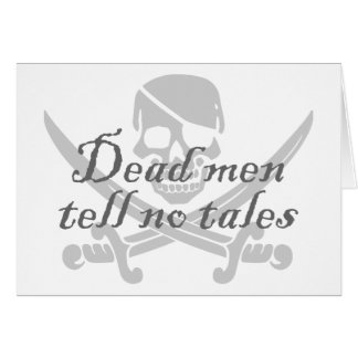 Dead Men Tell No Tales Card