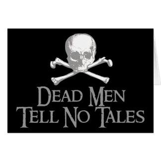 Dead Men Tell No Tales Card